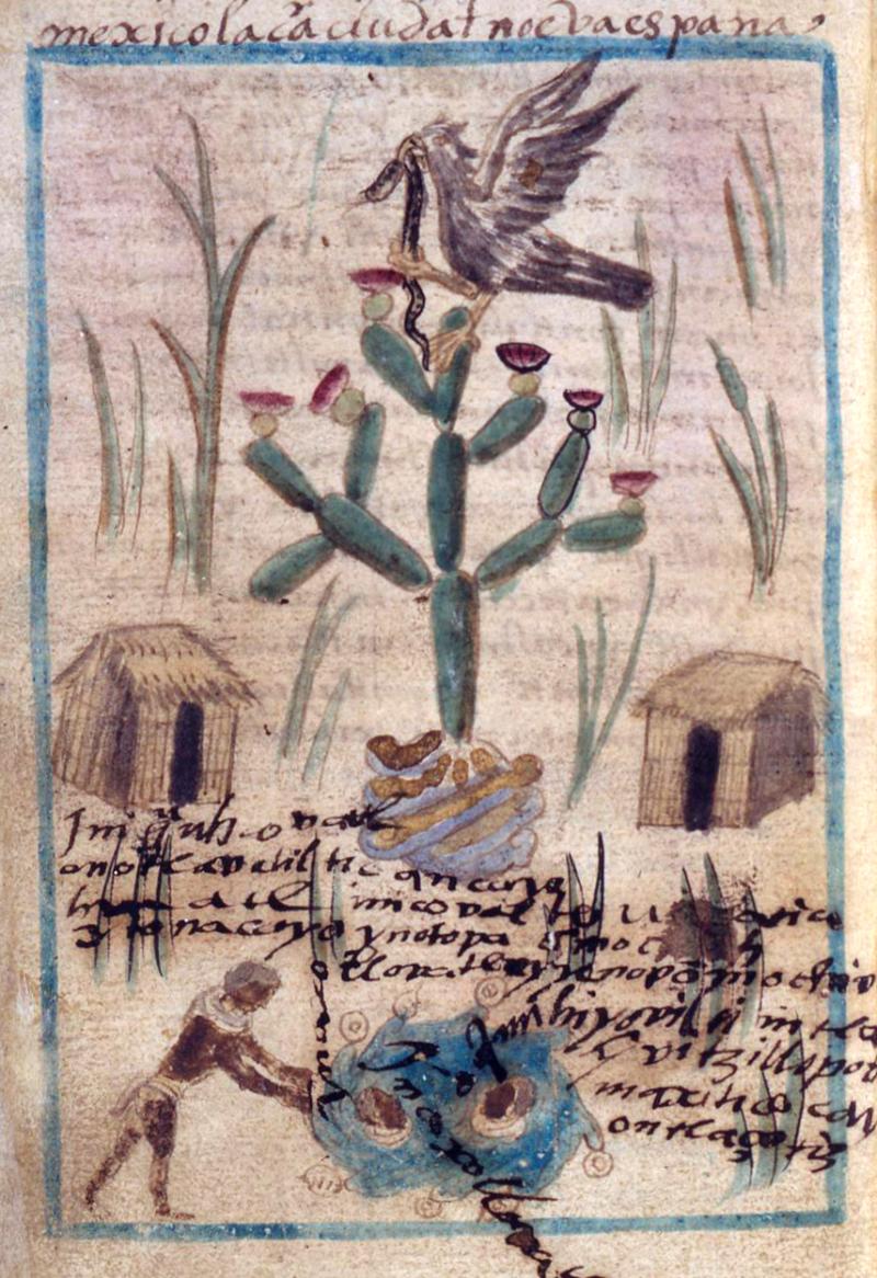 Xiuhpohualli of Tenochtitlán (Aubin Codex) ©Trustees of the British Museum