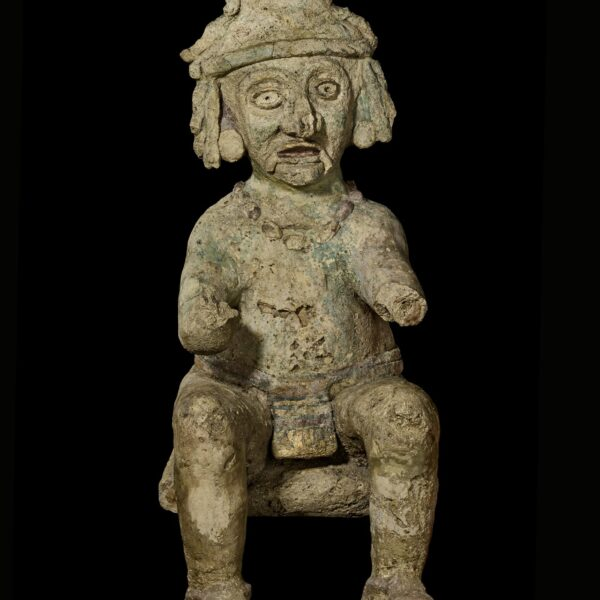 Stucco figure from Tulum, Mexico; Am1991,Q.3