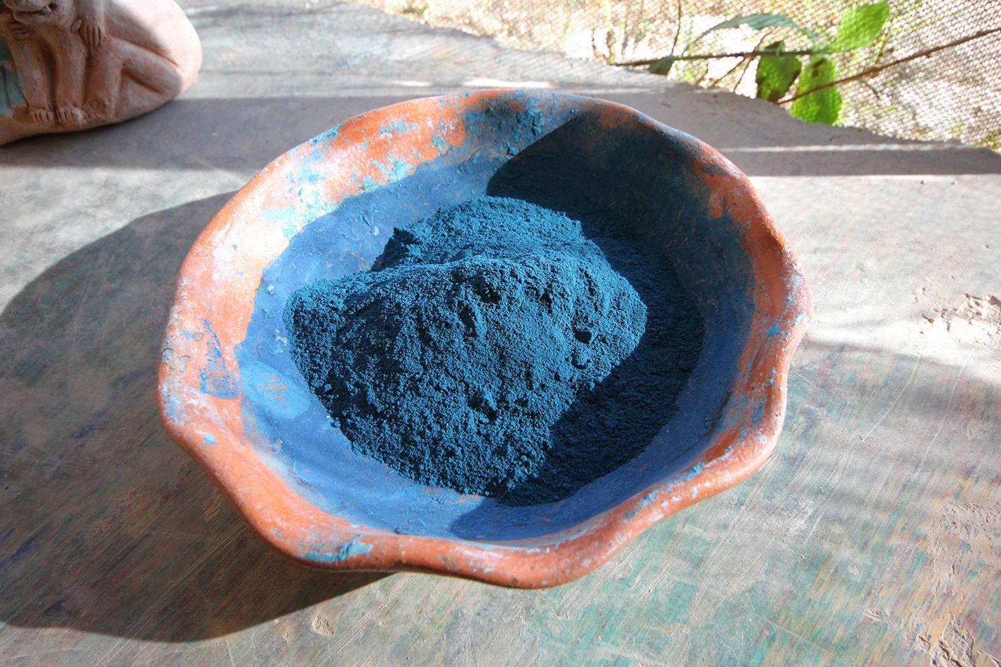 Maya Blue powder ©Luis May