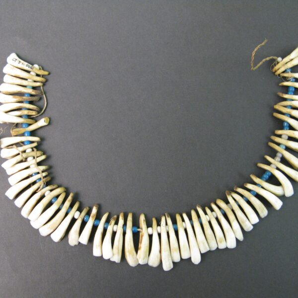 Sheep teeth necklace ©Trustees of the British Museum