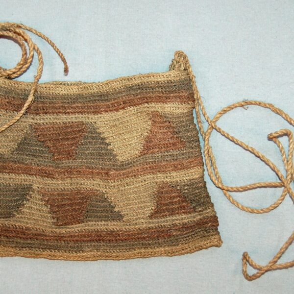 Woven string bag ©Trustees of the British Museum