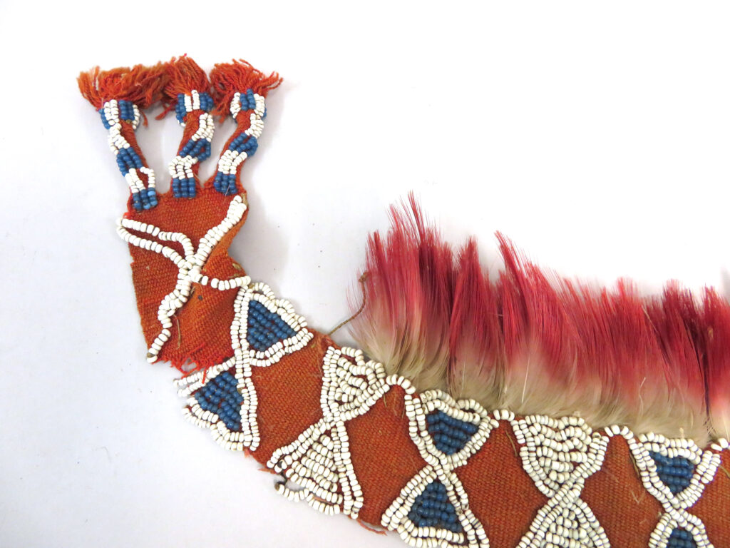 Image of a Headdress that belongs to the British Museum collection.